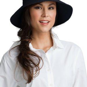 Coolibar UV-zonnehoed Marina dames - Zwart