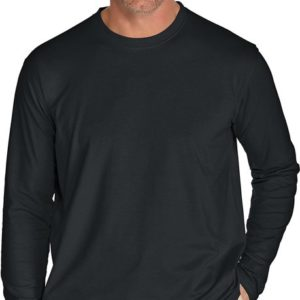 Coolibar - UV-werend Longsleeve shirt voor heren - Zwart