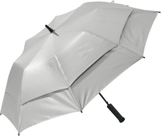 Coolibar UV-werende paraplu - Zilver