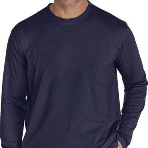 Coolibar - UV-werend longsleeve shirt heren - Donkerblauw