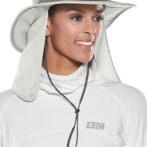 Coolibar - UV-hoed voor dames en heren - Grijs
