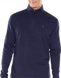 coolibar shirt donkerblauw