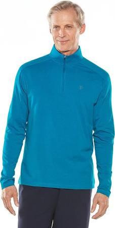 coolibar shirt lichtblauw