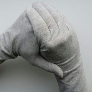 UV handschoenen heren Solar jersey grijs