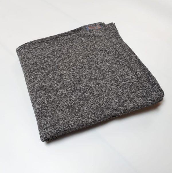 Veelzijdige grote UV-werende sjaal/omslagdoek heather jersey zwart