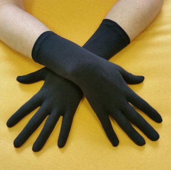 UV herenhandschoen dryknit zwart