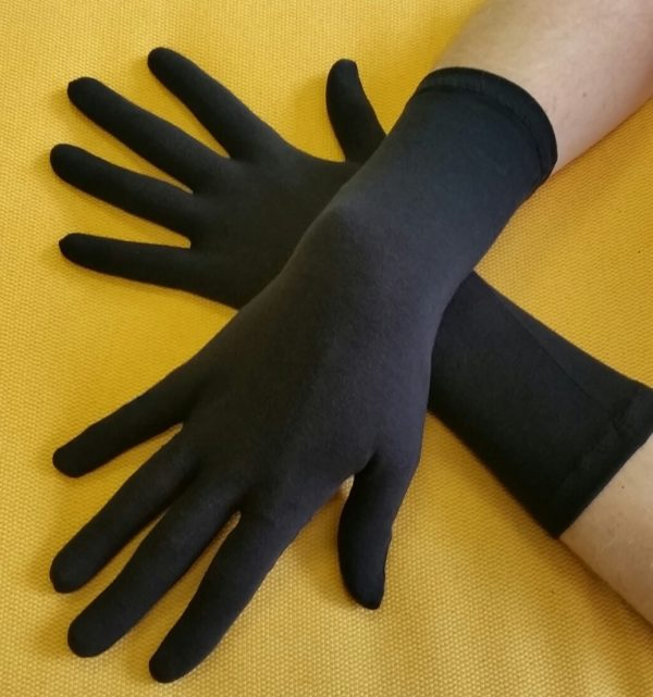 UV herenhandschoen zwart