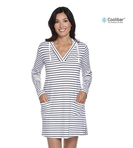 7c57d6bbc391ab Coolibar UV-werende jurk voor dames met capuchon - YOU UV