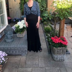 UV-werende lange jurk en UV vestje op maat