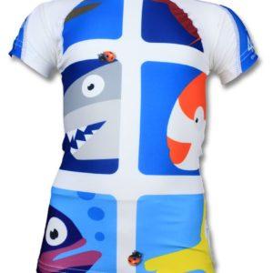 UV werend zwempakje kids - Pic Fish