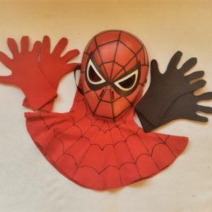 UV Spiderman gezichtsbescherming kind