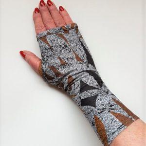 UV stof tribal print