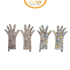 Kinder verkleurende uv handschoentjes