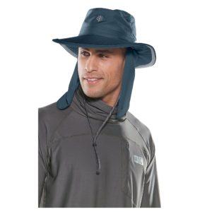 Coolibar UV-hoed voor dames en heren donkerblauw